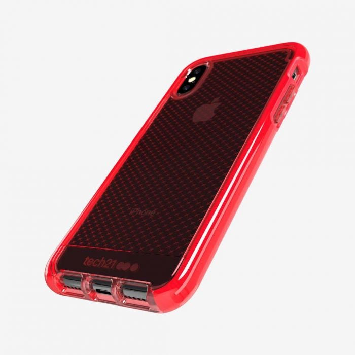 Tech21 Evo Check for IPHONE XS / XS MAX - Rouge