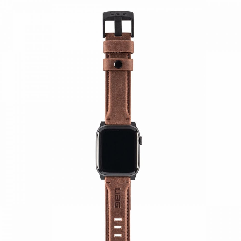 UAG Apple Watch Leather strap - Brown