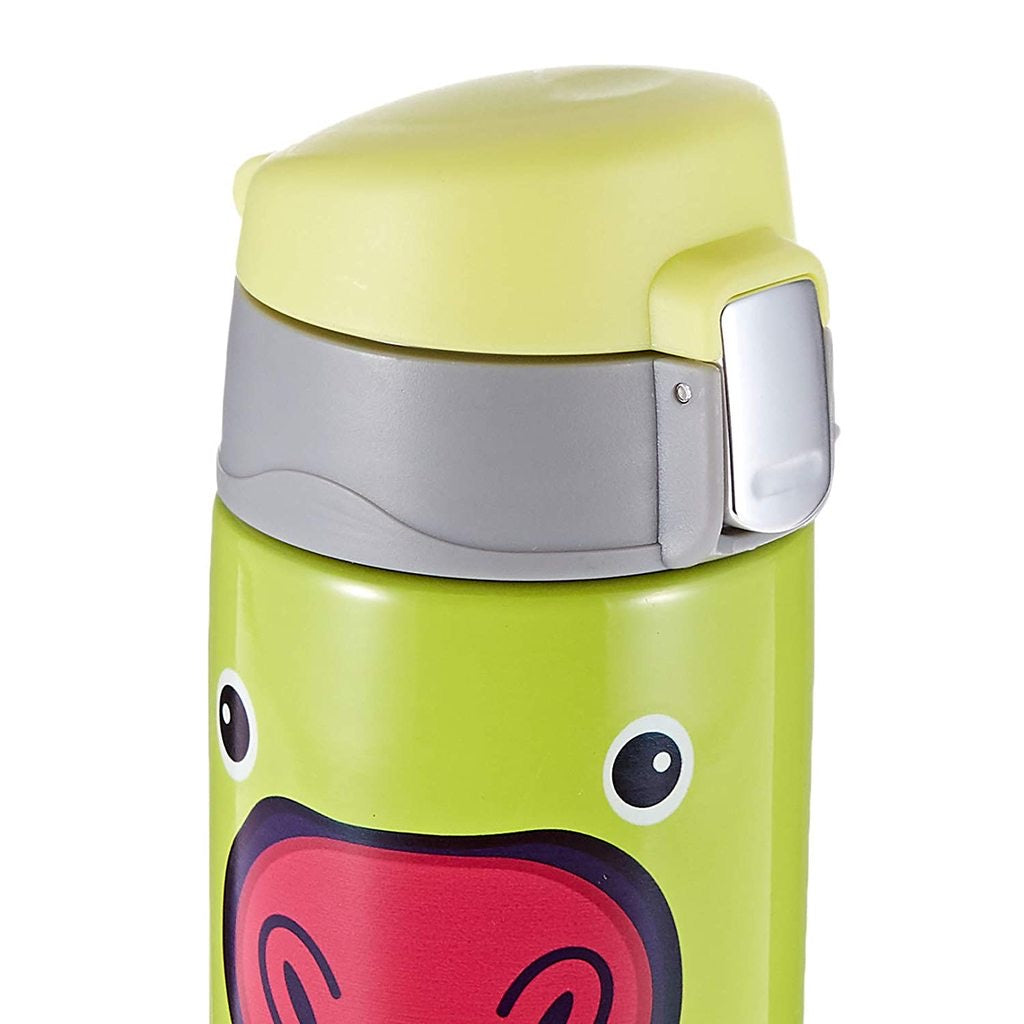 ASOBU Peakaboo Kids Bottle - Green
