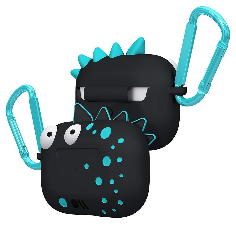 CASE-MATE CreaturePods AirPods Pro Case - Spike Harmless - Black