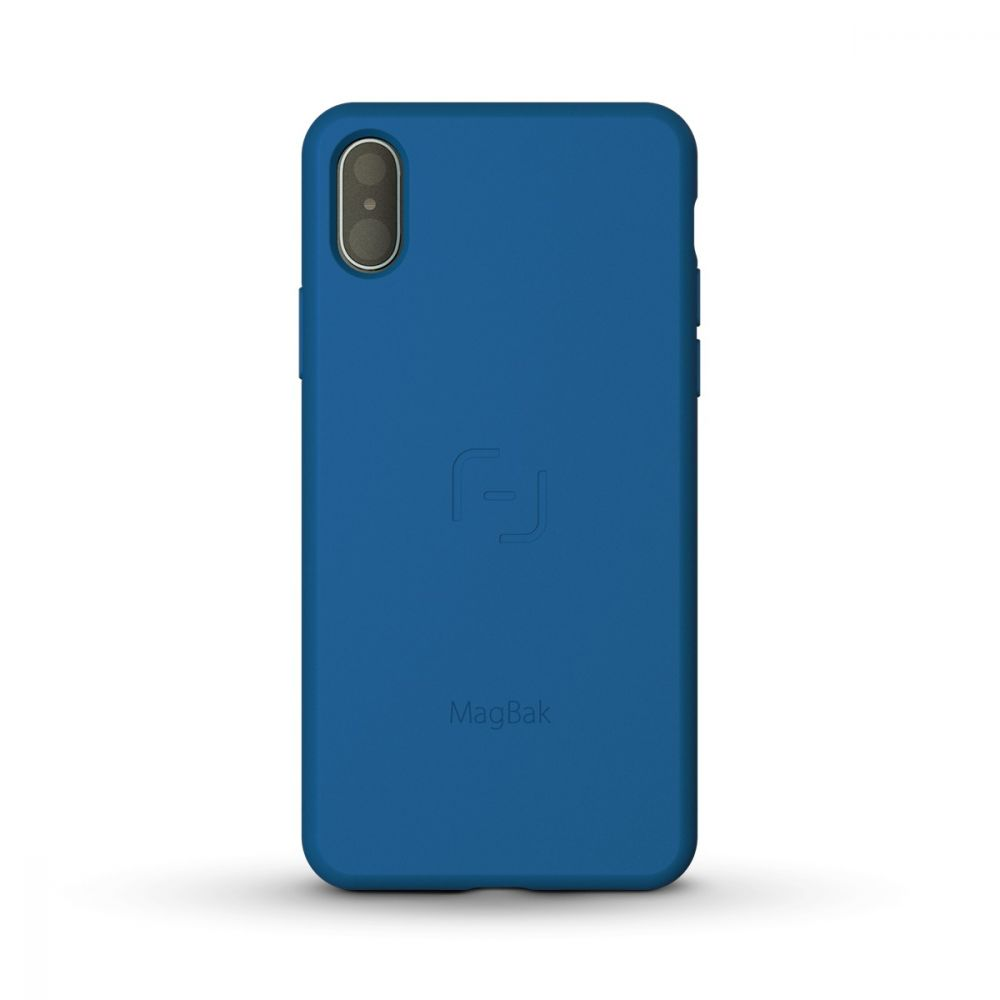 MagBak for iPhone X/Xs & Xs Max 2nd Gen with 2 MagSticks (BLUE)