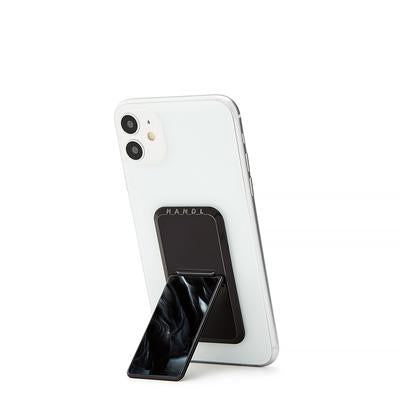 Handl Marble Phone Grip - Black