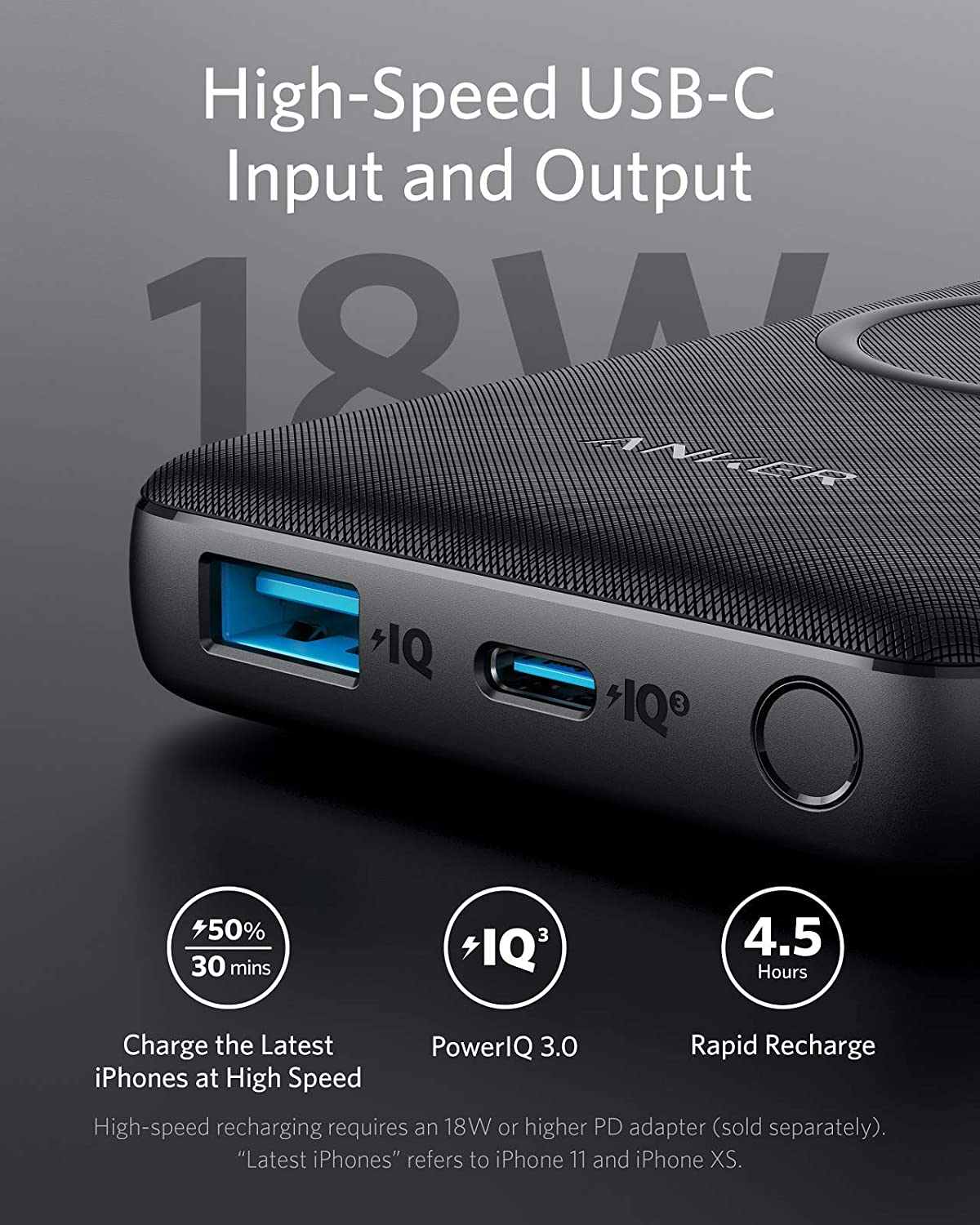 Anker PowerCore III 10K Wireless -UN Black Iteration 1