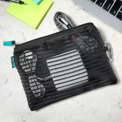 Nothing to Hide Mesh Storage Pouch