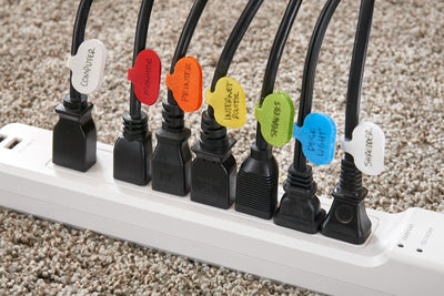 Cable Labels, Small (12-Pack)