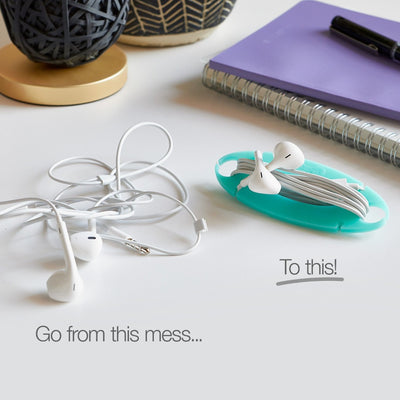 Tangle-Free Cord Wrap - Wrap-It Storage