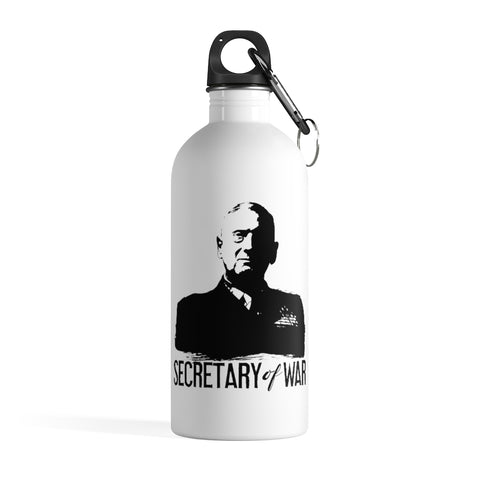 Secretary of War Stainless Steel Water Bottle