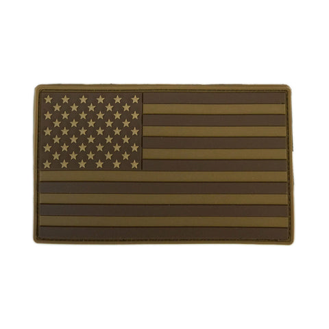 American Flag PVC Patch XL