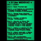 Glow in the Dark 9 Line MEDEVAC