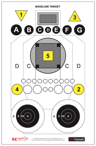 Shooting Targets Re Factor Tactical