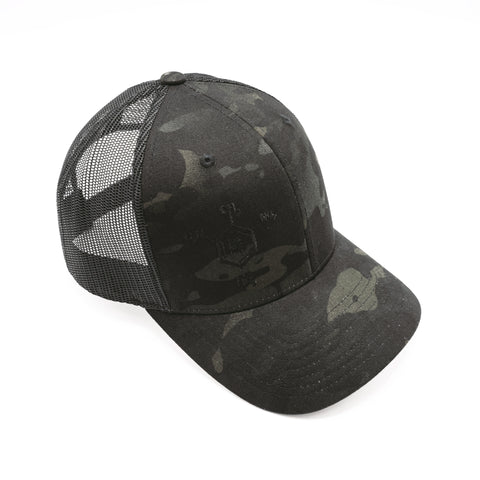 Multicam Black | Trucker Hat \u2013 RE Factor Tactical