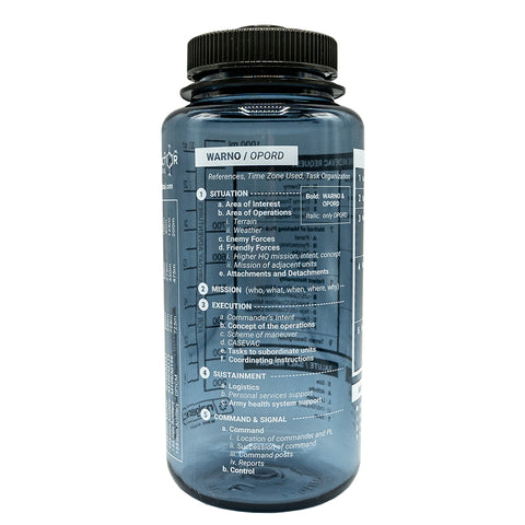 REFT Field Ops Reference Nalgene Bottle