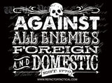 Against All Enemies Sticker