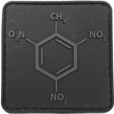 TNT Molecule PVC Patch