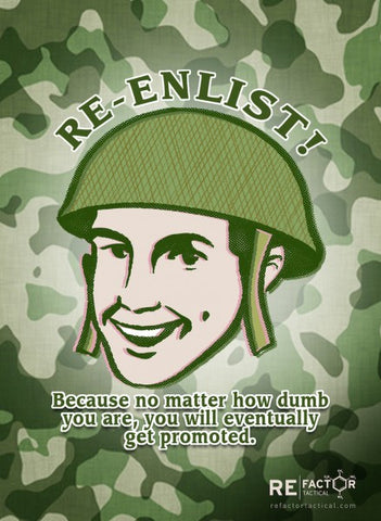 Re-enlist
