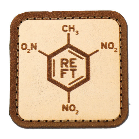 TNT Molecule Leather Patch