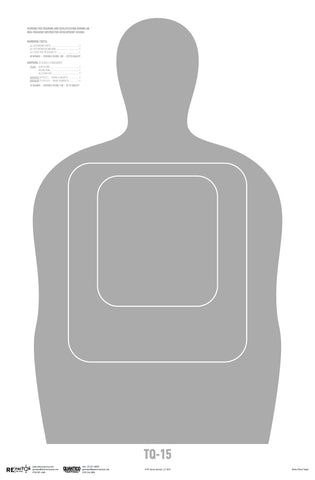 USCBP TQ-15 Qualification Target