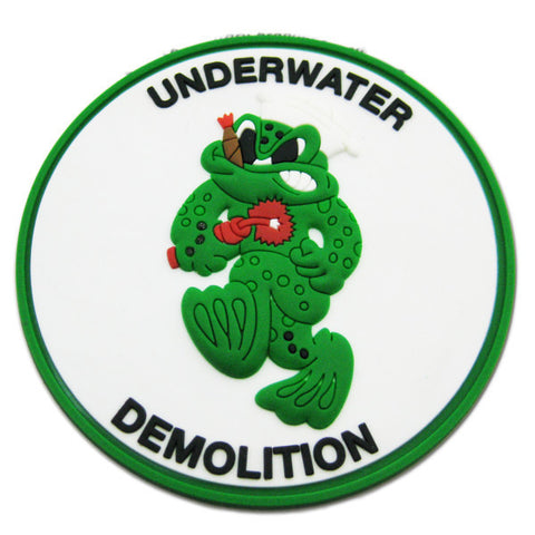 Underwater Demolition Team PVC Patch