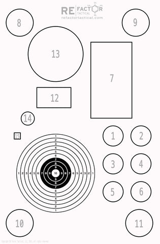 picture about Funny Printable Shooting Targets named Fundamentals Capturing Focus