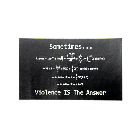 Violence is the Answer IR Patch