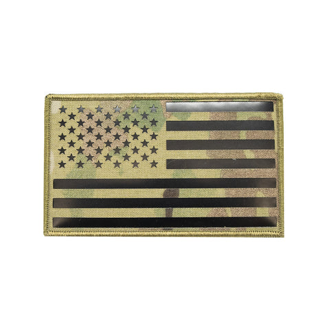 XL American Flag IR Patch
