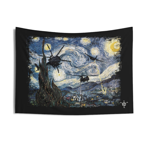 Warry Night Wall Tapestry