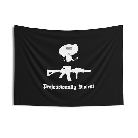 Professionally Violent Wall Tapestry