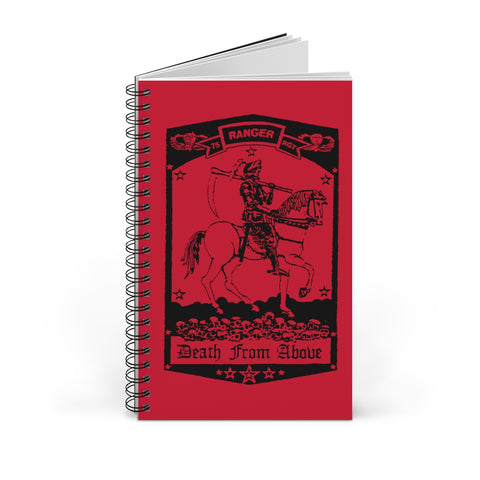 Death From Above Spiral Notebook