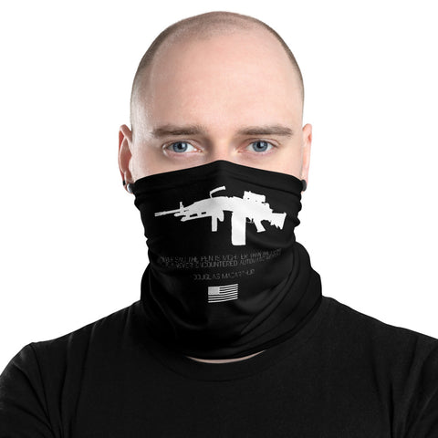 Automatic Weapons Neck Gaiter/ Face Mask