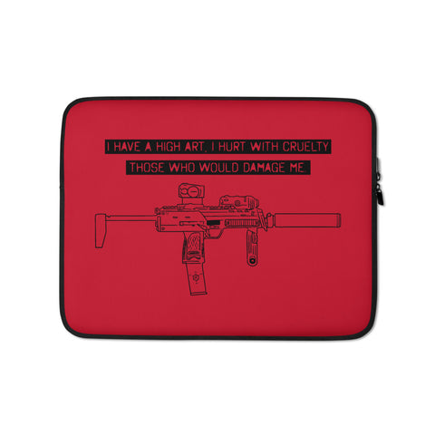 Cruelty Laptop Sleeve