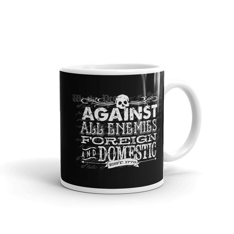Against All Enemies Mug