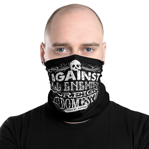 Against All Enemies Neck Gaiter/ Face Mask