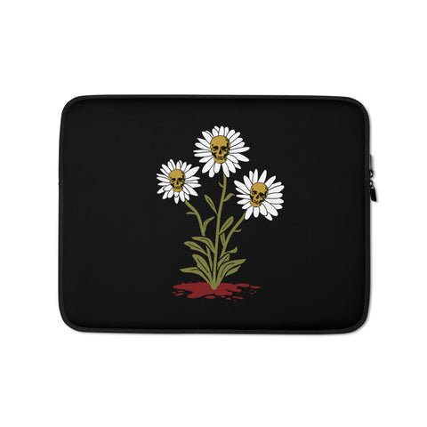 Death Blossom Laptop Sleeve