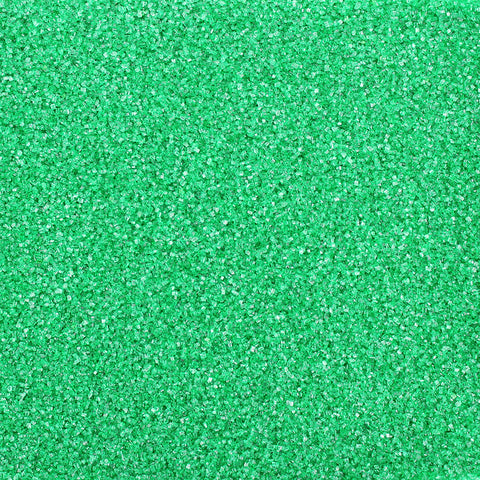EMERALD GREEN SANDING SUGAR 5 LB