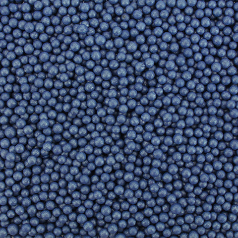 PEARLY NAVY BLUE SUGAR PEARLS 5 LB
