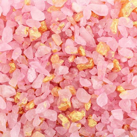 ROSE QUARTZ GEM SUGAR 5 LB
