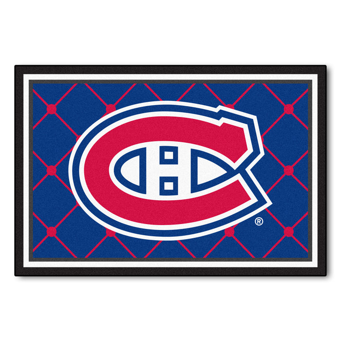 "NHL - Montreal Canadiens 5x8 Rug 59.5""x88"""