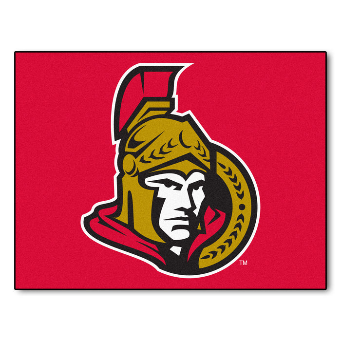 "NHL - Ottawa Senators All-Star Mat 33.75""x42.5"""