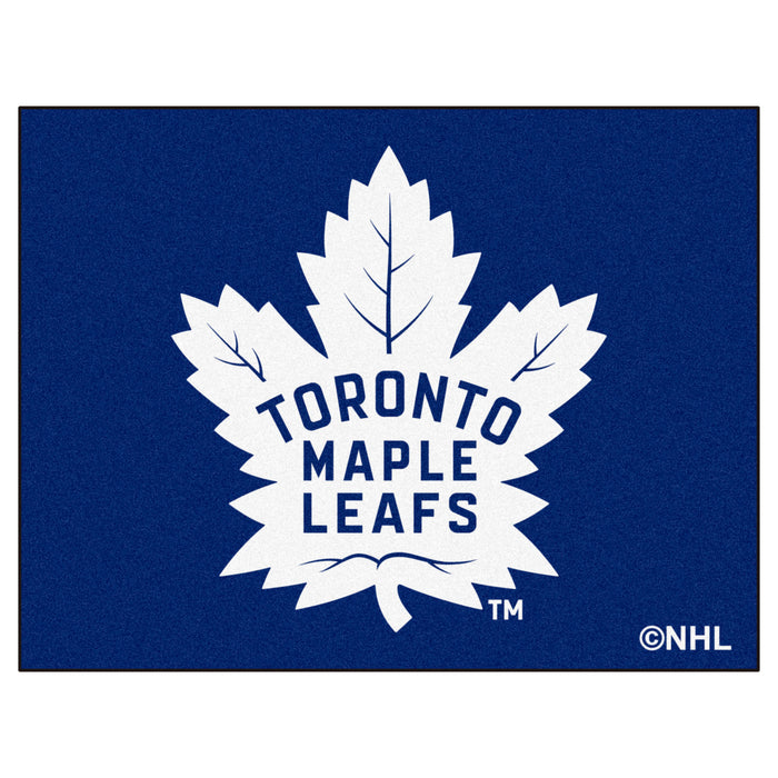 "NHL - Toronto Maple Leafs All-Star Mat 33.75""x42.5"" - Fan Cave Rugs"