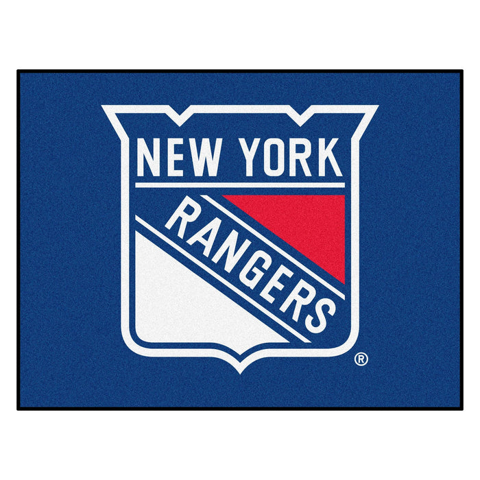 "NHL - New York Rangers All-Star Mat 33.75""x42.5"""