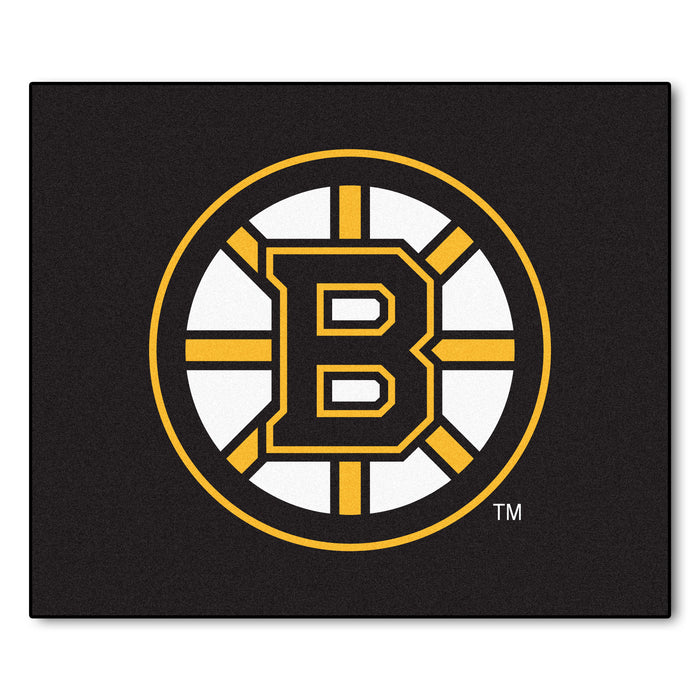 NHL - Boston Bruins Tailgater Rug 5'x6' - Fan Cave Rugs