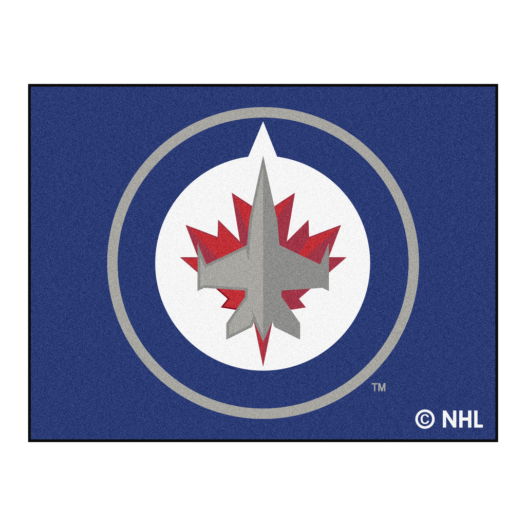 "NHL - Winnipeg Jets All-Star Mat33.75""x42.5"""