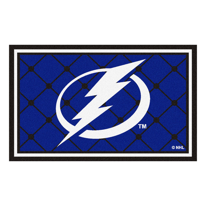 "NHL - Tampa Bay Lightning 4x6 Rug 44""x71"""