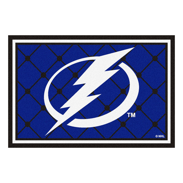 "NHL - Tampa Bay Lightning 5x8 Rug 59.5""x88"""