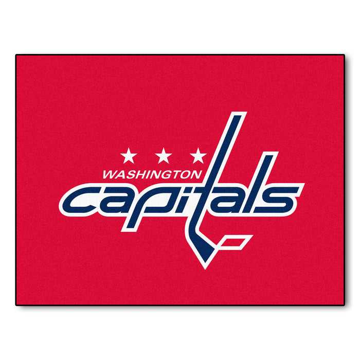 "NHL - Washington Capitals All-Star Mat 33.75""x42.5"" - Fan Cave Rugs"