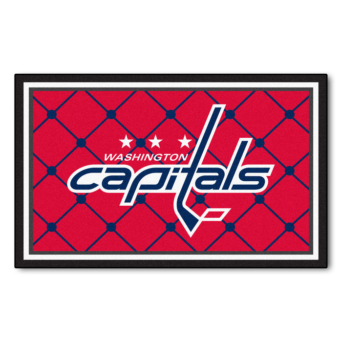 "NHL - Washington Capitals 4x6 Rug 44""x71"""