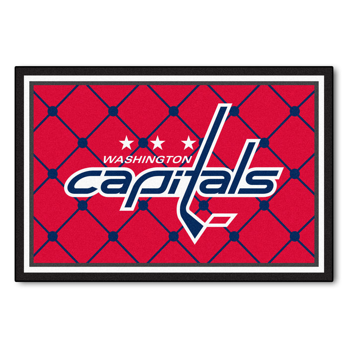 "NHL - Washington Capitals 5x8 Rug 59.5""x88"""