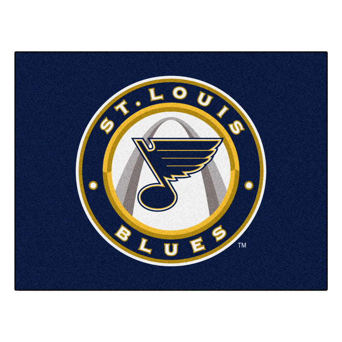 "NHL - St. Louis Blues All-Star Mat 33.75""x42.5"""