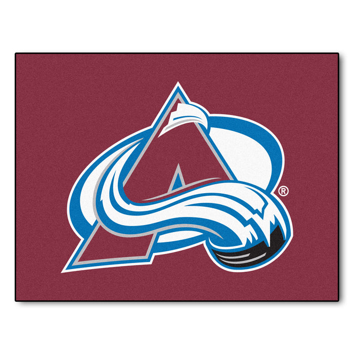 "NHL - Colorado Avalanche All-Star Mat 33.75""x42.5"" - Fan Cave Rugs"