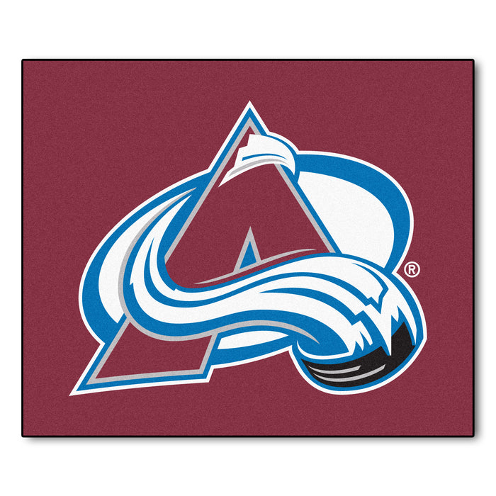 NHL - Colorado Avalanche Tailgater Rug 5'x6' - Fan Cave Rugs